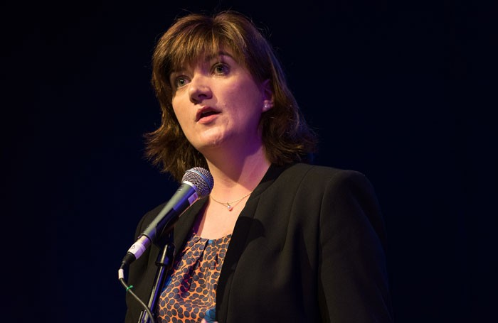 Education secretary Nicky Morgan has been accused of failing to make arts education a priority. Photo: Ian Watts