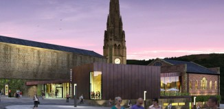 An artist's impression of how Square Chapel Centre will look after the multi-million-pound revamp. Photo: Evans Vettori