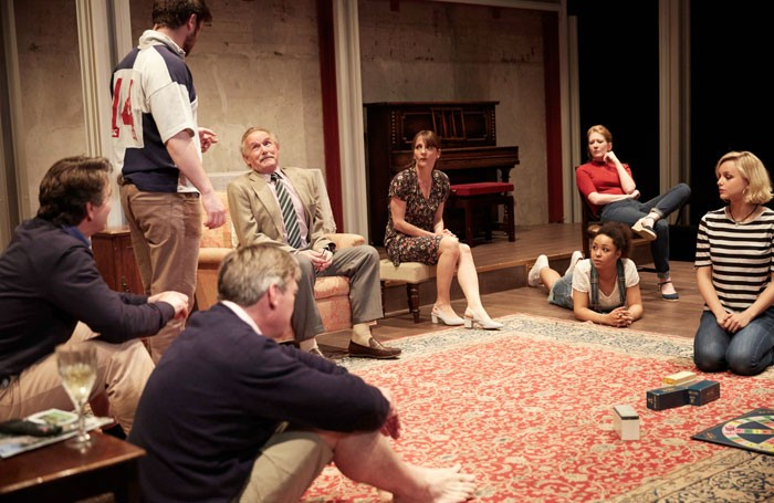 The Gathered leaves at Park Theatre. Photo: Mark Douet