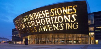 Wales Millennium Centre. Photo: Phil Boorman