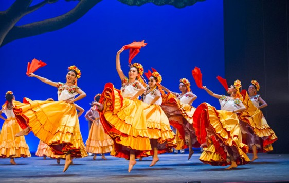 Ballet Folklorico de Mexico, London Coliseum. Photos: Tristram Kenton