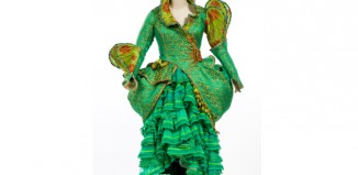 Costume from Wicked, which will appear in the Dressed by Angels exhibition. Photo: Alpesh Rabadia Photography