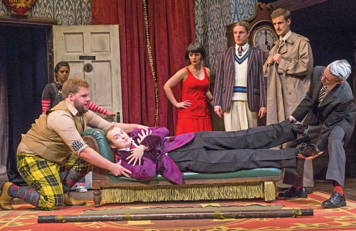 Olivier award-winning hit comedy The Play That Goes Wrong is about to go into its second year at the Duchess, London. Photo: Tristram Kenton