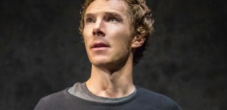 Benedict Cumberbatch in Hamlet at the Barbican Theatre. Photo: Johan Persson