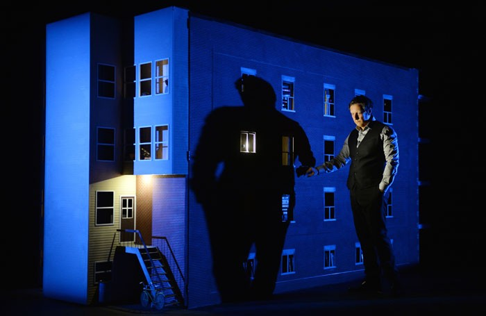 Robert Lepage in 887 at Edinburgh International Festival. Photo: Erick Labbe