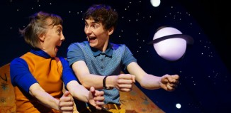 Lucy Tuck and Jordan Turner in Alfie White – Space Explorer, Pleasance Courtyard, Edinburgh