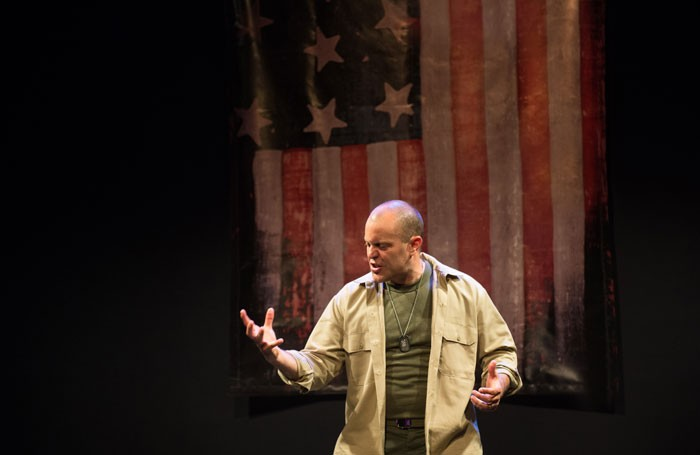 Douglas Taurel in The American Soldier. Photo: Dianna Bush Photography