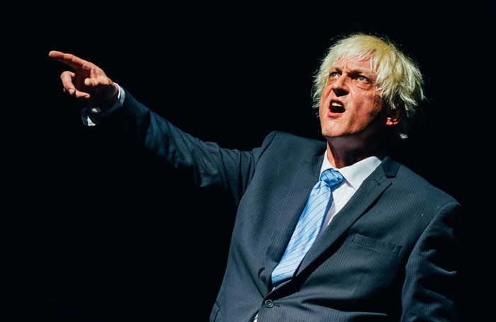 Dave Benson in Boris – World King at Pleasance Courtyard, Edinburgh
