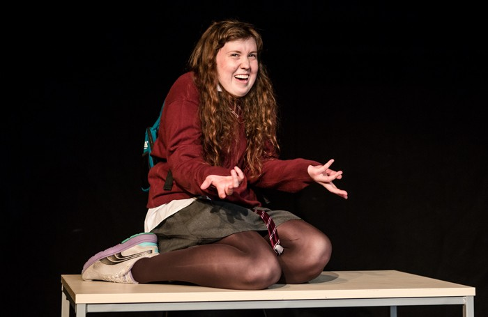 Izzy Tennyson in Brute at the Underbelly Cowgate. Photo: Richard Davenport