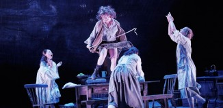 Dancing at Lughnasa at the Lyric Theatre, Belfast. Photo: Ros Kavanagh