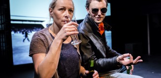 Danny Solomon and Holly Joyce in Consolation at the Bridewell Theatre