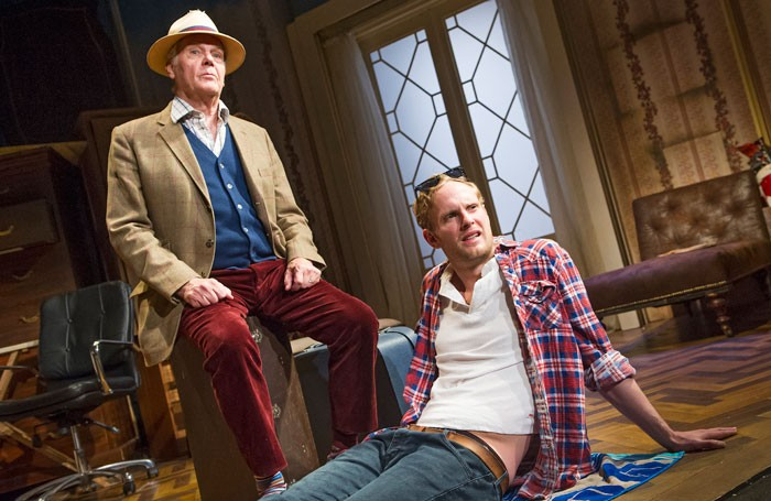 James and Jack Fox in Dear Lupin at the Garrick Theatre, London. Photo: Tristram Kenton