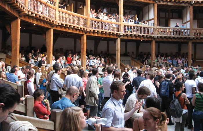 Theatregoers gather at Shakespeare's Globe, London – but will the same people be back next summer? Photo: Sourav Niyogi