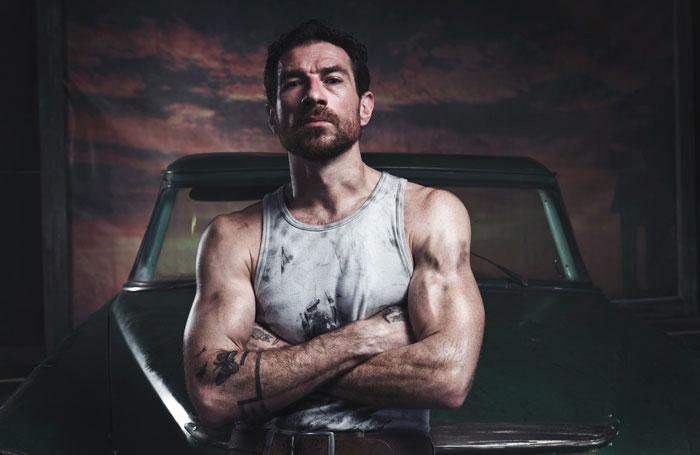 Jonathan Ollivier as Luca in Matthew Bourne's The Car Man. Photo: Chris Mann