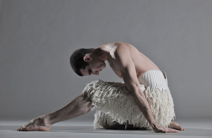 Jonathan Ollivier in Matthew Bourne's Swan Lake. Photo: Hugo Glendinning