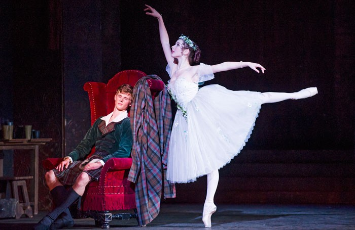 Queensland Ballet's La Sylphide at the Coliseum. Photo: Tristram Kenton