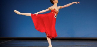 Natasha Watson competing in the 2013 Genee competition. Photo: Andy Ross