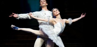 Rupert Pennefather and Aline Cojocaru in Cinderella at the Royal Ballet in 2010. Photo: Tristram Kenton