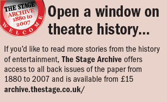 The Stage Archive info