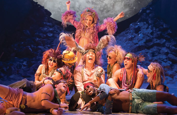 Sheridan Smith and David Walliams in A Midsummer Night's Dream at the Noel Coward Theatre. Photo: Johan Persson