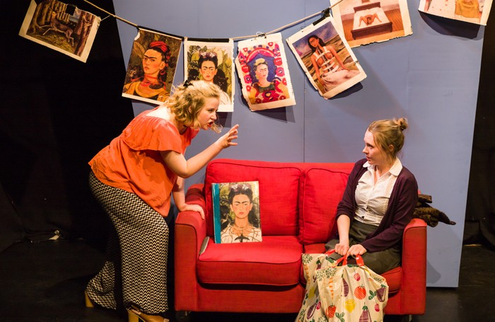 Olivia Scott-Taylor and Cecily Nash in The Frida Kahlo of Penge West. Photo: Nick Rutter