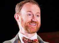 Taken out of context: Mark Gatiss, who is currently appearing in Three Days in the Country at the National Theatre, agrees with Juliet Stevenson's comments on high ticket prices. Photo: Tristram Kenton