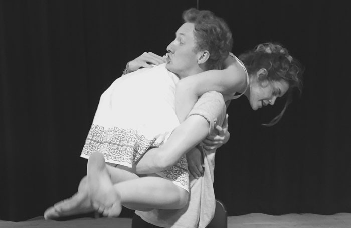 Will Merrick and Serena Jennings in Wasted at Gilded Balloon