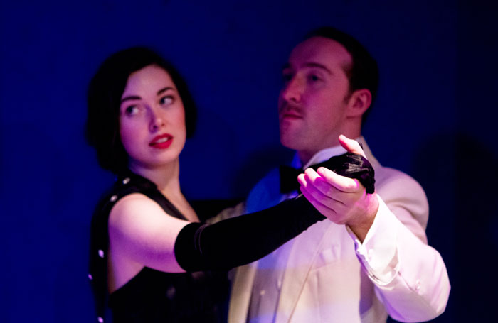 We Were Dancing: Lianne Harvey and James Sindall in A Naughty Night with Noel Coward at the Old Red Lion. Photo: Ben Coverdale