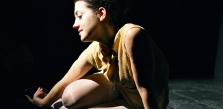 Jessica Butcher in Where Do Little Bird Go? at Underbelly. Photo: Camilla Whitehill