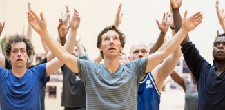 Benedict Cumberbatch in rehearsals for Hamlet at the Barbican. Photo: Johan Persson