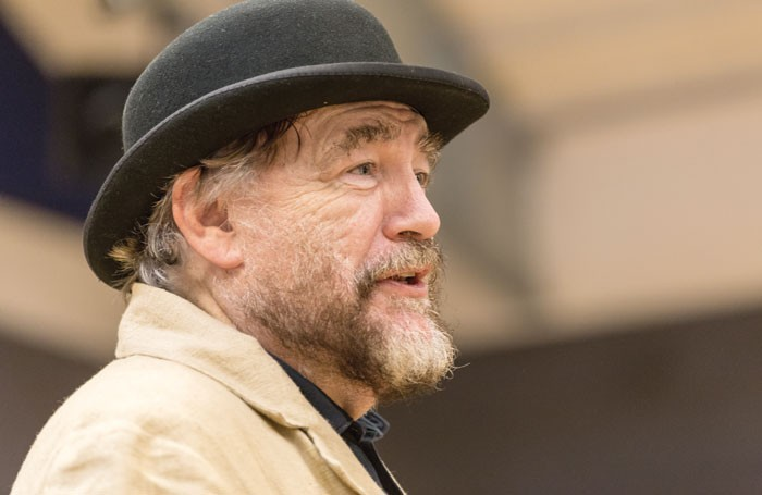 Brian Cox in rehearsal for Waiting for Godot. Photo: Aly Wight