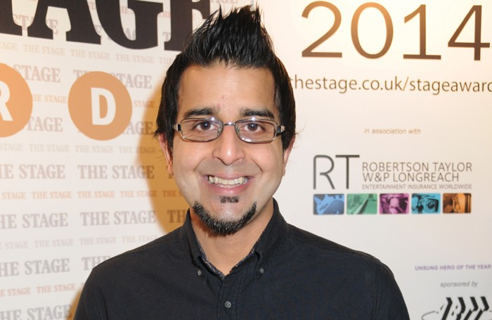 Madani Younis, artistic director of the Bush Theatre. Photo: Stephanie Methven