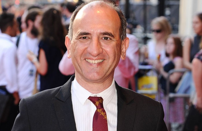 Armando Iannucci presented this year's MacTaggart. Photo: