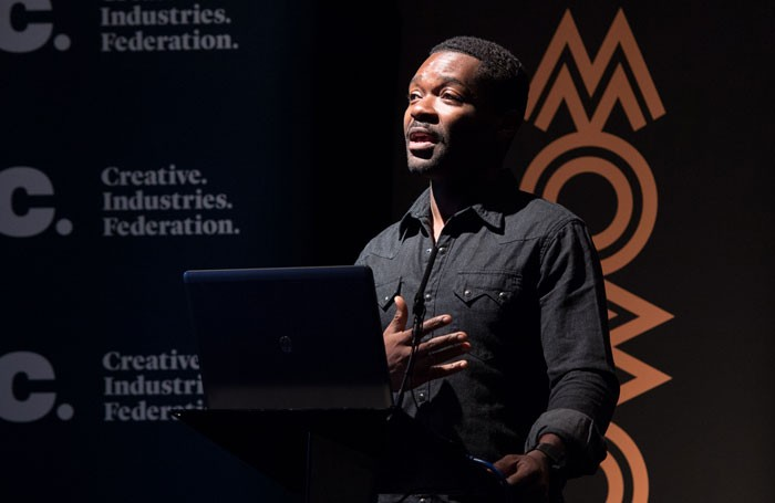 David Oyelowo has called for more ethnic diversity among curators of culture. Photo: the Mobo Organisation