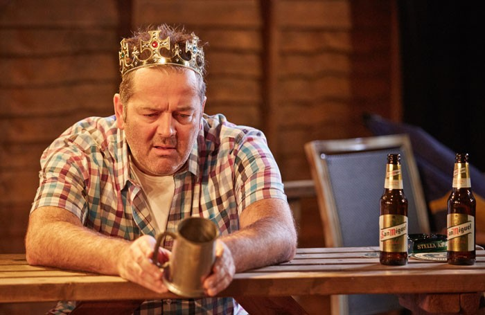 James Doherty in Eventide at the Arcola Theatre. Photo: Mark Douet