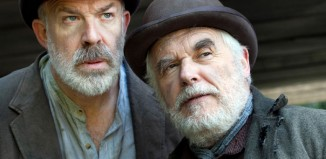 Peter Cadden and Richard Heap in Waiting for Godot. Photo: Sheila Burnett