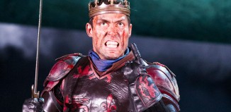 Alex Hasselll in Henry V at the Royal Shakespeare Theatre, Stratford-upon-Avon. Photo: Tristram Kenton