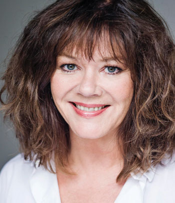 Josie Lawrence, of the Comedy Store Players and Whose Line Is It Anyway? Photo:  Ruth Crafer