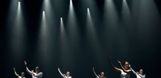 A scene from Barbarians at Sadler's Wells. Photo: Jake