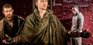 Tom Hiddleston in Coriolanus, which is being screened by NT Live. Photo: Johan Persson