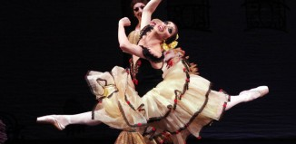 Chase Johnsey as Kitri in Don Quixote, part of the Trocks Programme 2. Photo: Costas