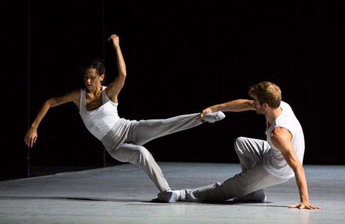 Sophie Martin and Victor Zarallo in Motion of Displacement. Photo: Andy Ross.