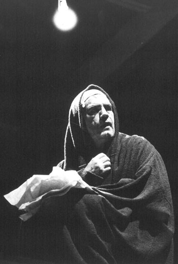 Cox in Titus Andronicus at the Swan Theatre, Stratford-upon-Avon, 1987. Photo: Sarah Ainslie