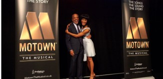 Berry Gordy and Lucy St Louis at the launch of Motown The Musical. Photo: Craig Sugden
