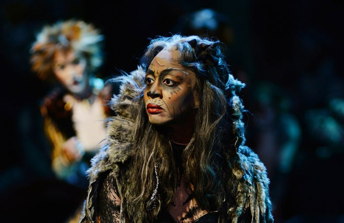Beverley Knight as Grizabella in Cats at the London Palladium. Photo: Alessandro Pinna