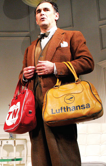 Rylance in Boeing-Boeing (2007). Photo: Tristram Kenton