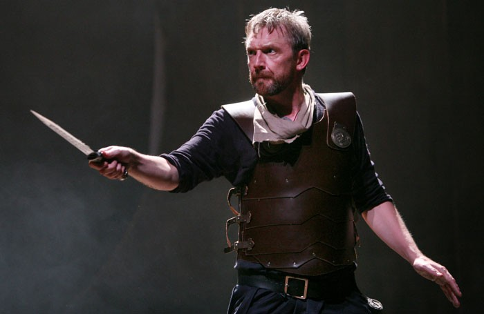 Colin Tierney in The Odyssey: Missing, Presumed Dead at the Everyman Theatre, Liverpool. Photo: Gary Calton