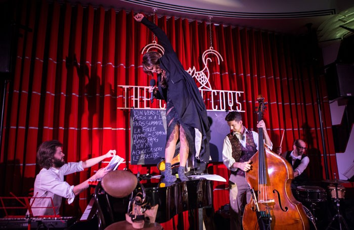 Frances Ruffelle: I Say Yeh-Yeh at Crazy Coqs. Photo: James Gourley/REX Shutterstock