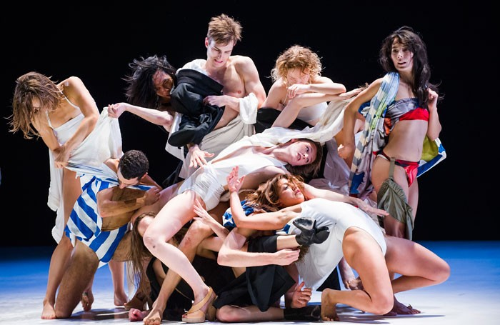 Gravity Fatigue at Sadler's Wells, London. Photo: Tristram Kenton