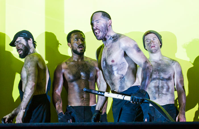 A scene from The Hairy Ape at the Old Vic. Photo: Tristram Kenton